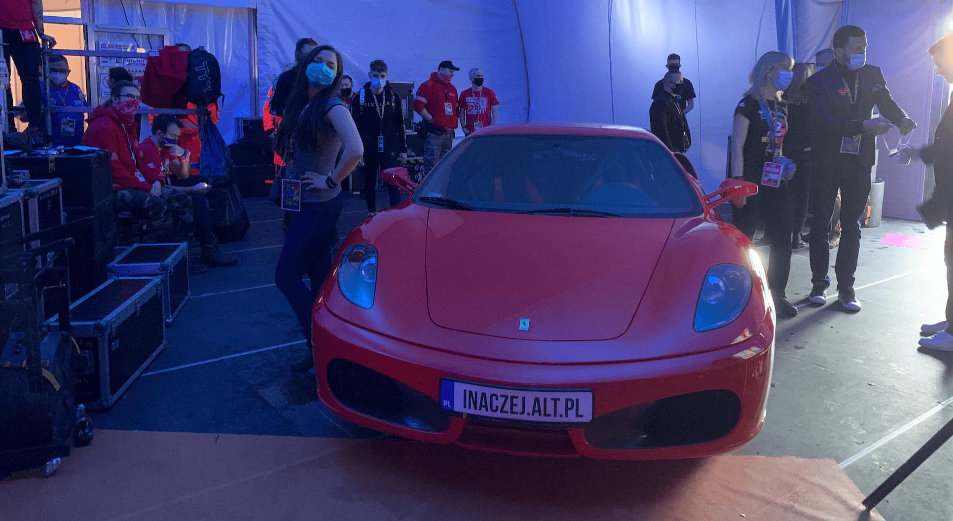Radek Kotarski Ferrari 29. Finał WOŚP