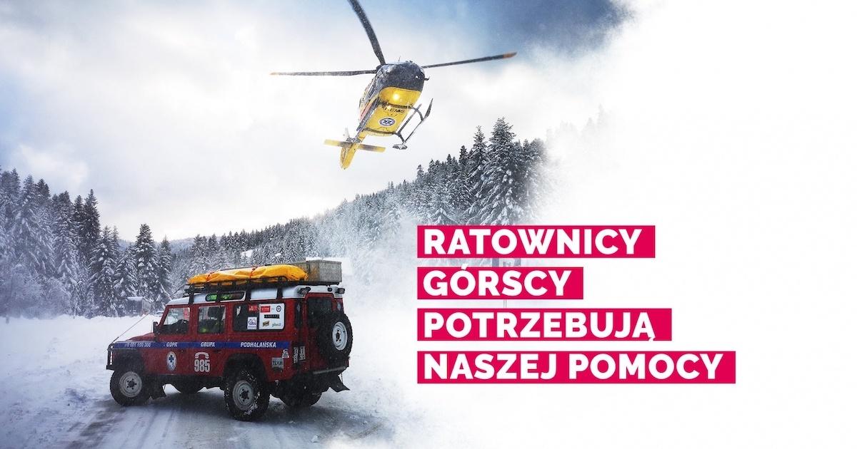 Spektakularna zbiórka pięniędzy dla GOPR!