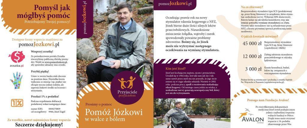 Ulotka pomozJozkowi.pl