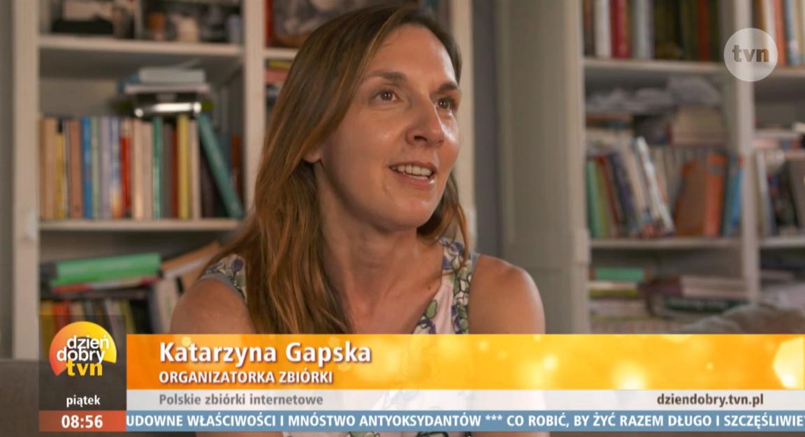 Katarzyna Gapska, organizatorka zrzutki 'Żuk dla pana Włodka'