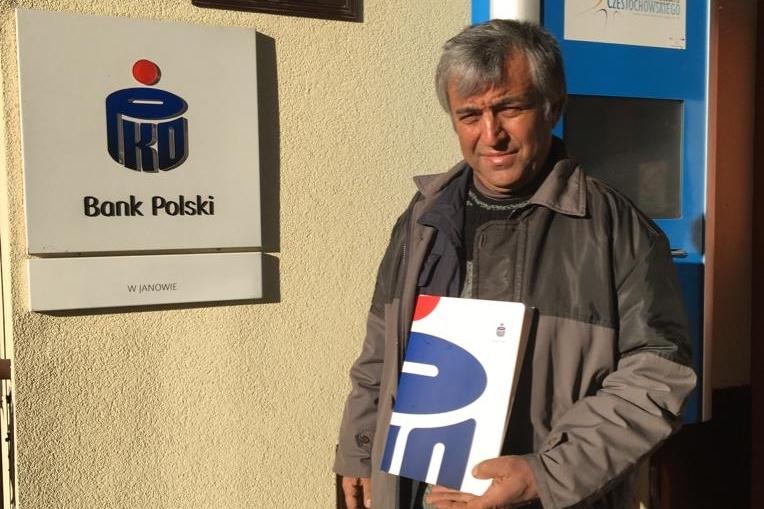 Bank PKO BP dla Irańskiego kierowcy