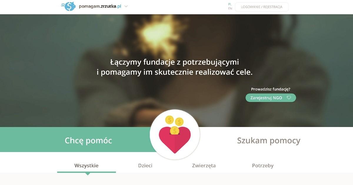 Nasz nowy portal - pomagam.zrzutka.pl