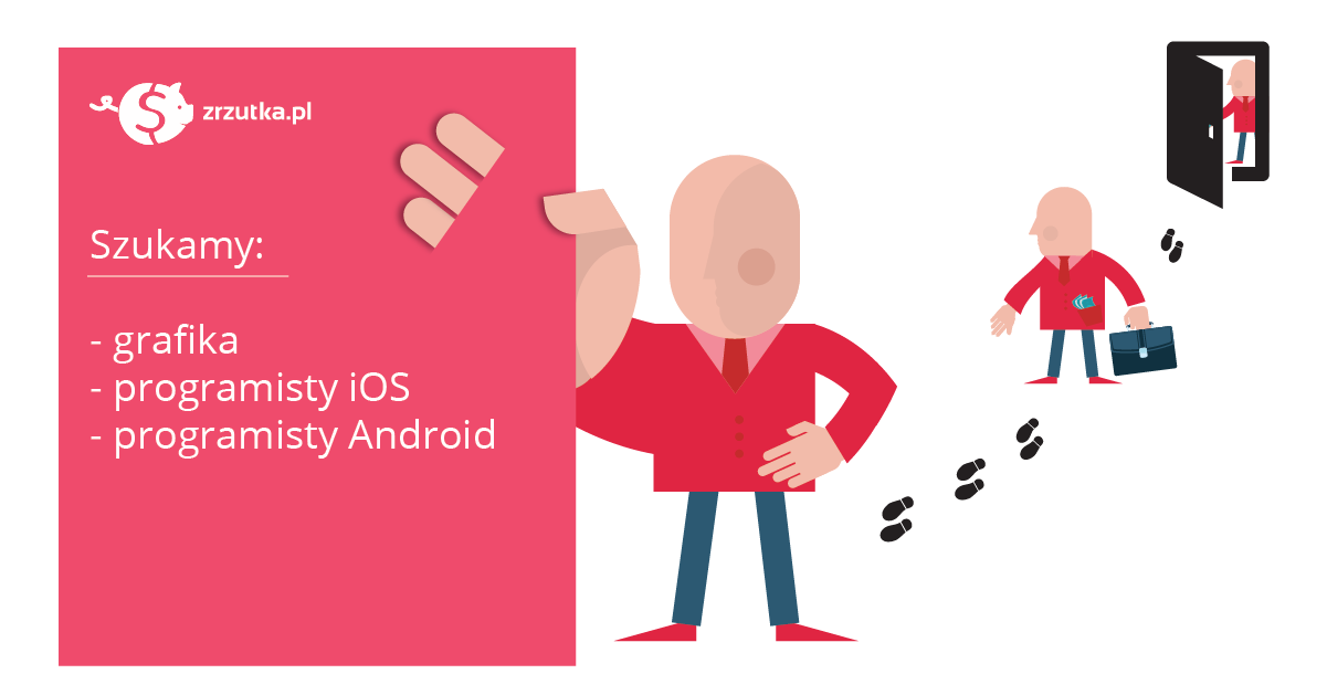 Zatrudnimy grafika oraz programistę iOS i Android