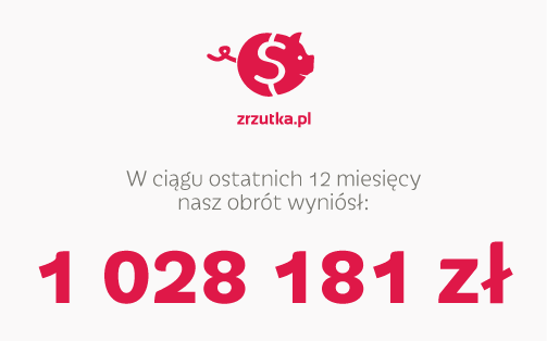 W rok po starcie przekroczyliśmy 1 000 000 PLN!