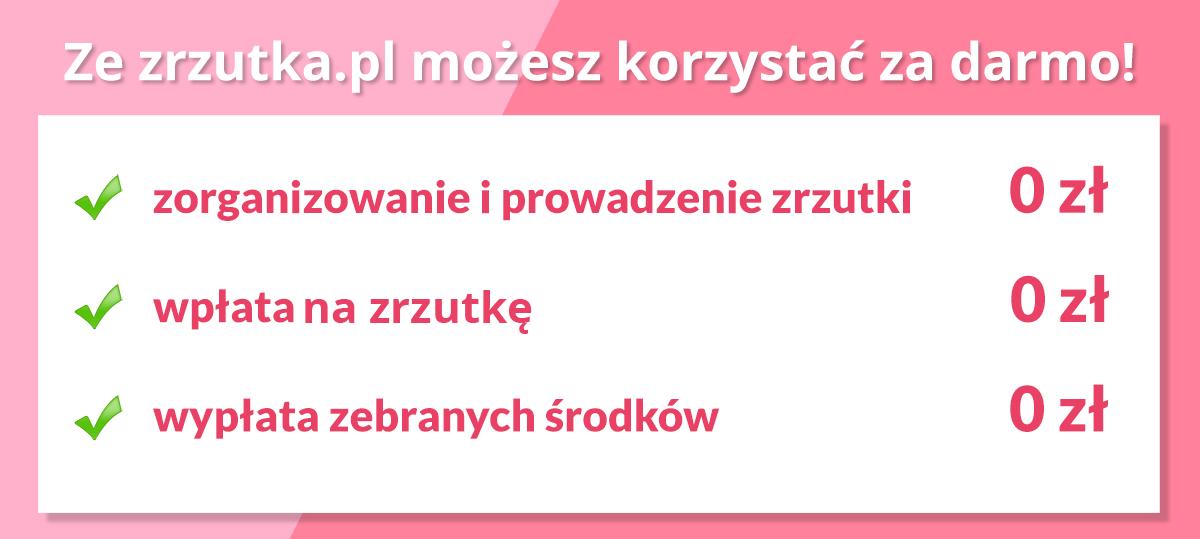 zrzutka.pl za darmo