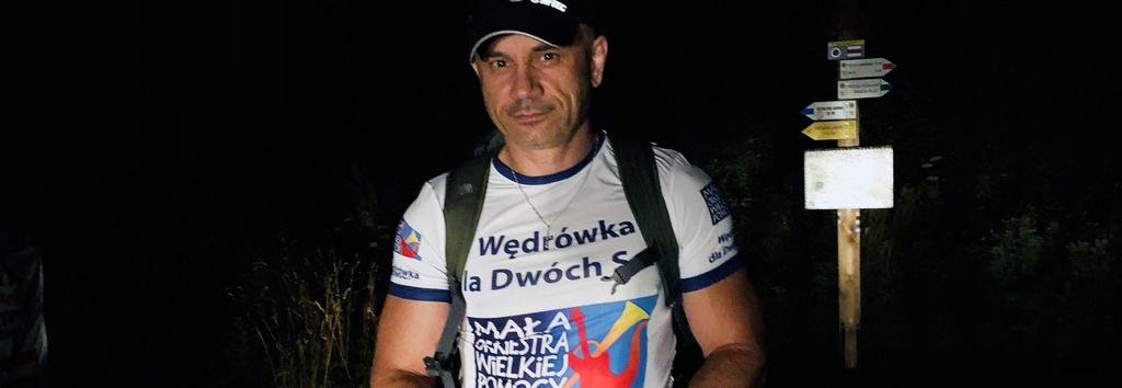 Wędrówka dla Dwóch Serc, czyli Michał Łygan 540 km górami dla niepełnosprawnego rodzeństwa