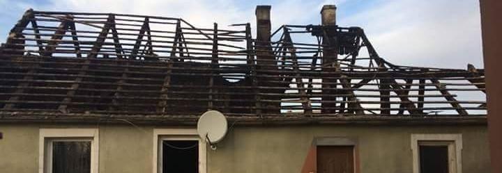 Pożar zabrał im dom w Rynarzewie.Rodzina i Przyjaciele organizują zbiórkę pieniędzy.