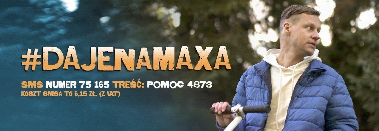 #DAJENAMAXA - Dajmy na Maxa i pomóżmy mu wrócić do zdrowia!