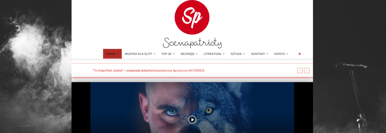 Zbiórka na utrzymanie strony i serwerów - ScenaPatrioty.pl
