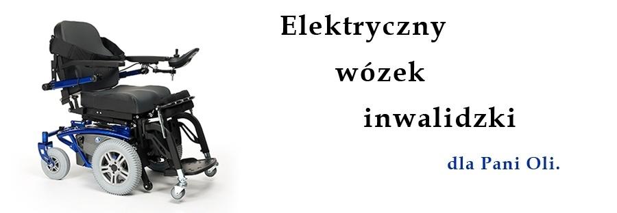 Elektryczny wózek inwalidzki - Rodzina Szlachetnej Paczki z Częstochowy