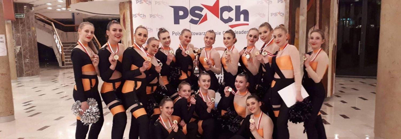 Wyjazd Cheerleaders Maxi ze Słupska na Puchar Europy w Wiedniu