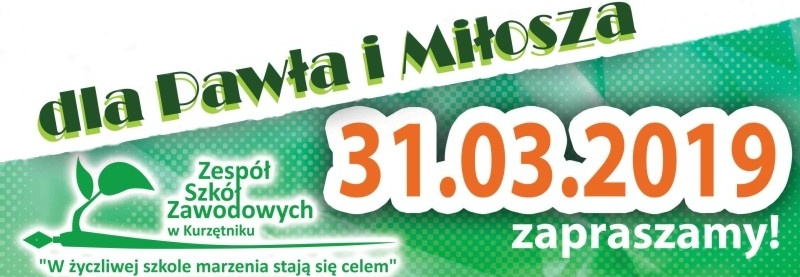 Zbiórka dla uczniów: Miłosza Pokojskiego i Pawła Żmijewskiego.