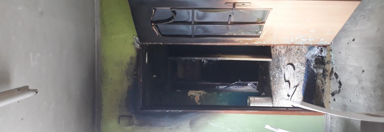 Remont  po pożarze