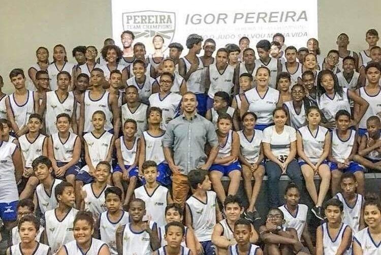Przyjazd Brazylijskich zawodnikow judo do Polski