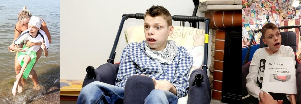 Turnus rehabilitacyjny dla 24-letniego Damiana Lackowskiego