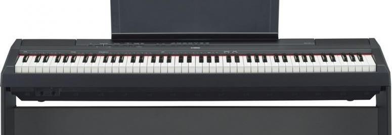 Pianino dla uzdolnionej dziewczynki.