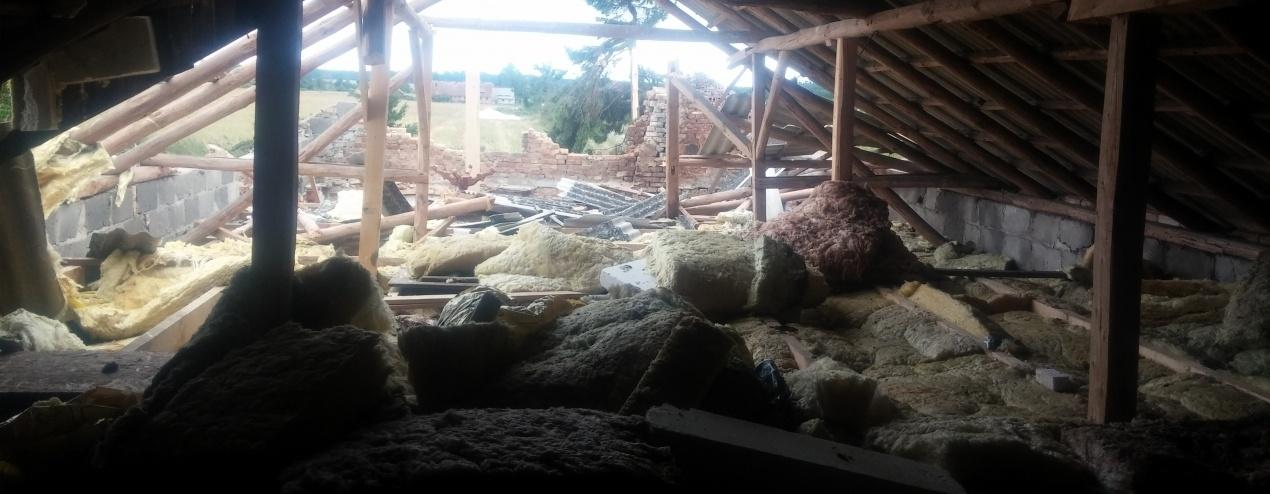 Odbudowa domu