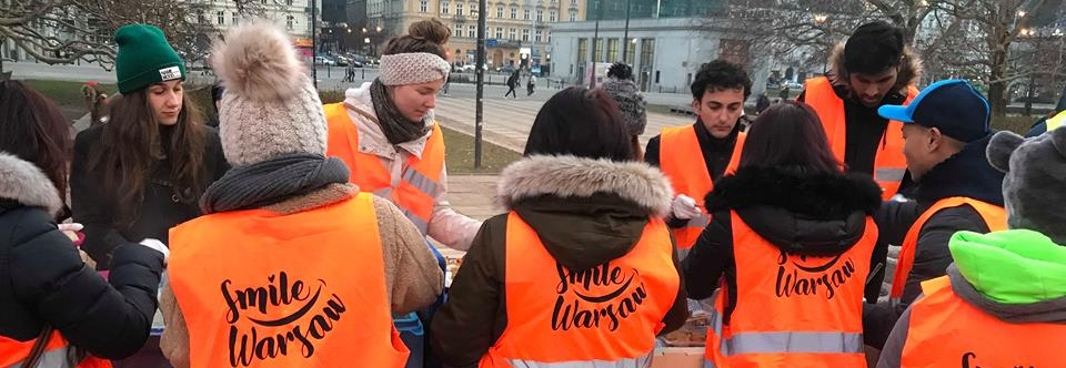 Smile Warsaw - Feeding the homeless in Warsaw