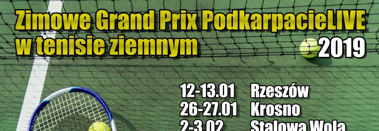 Zimowe GP PodkarpacieLIVE w tenisie (Stalowa Wola)