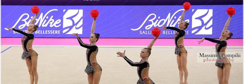 Reprezentacja Polski w gimnastyce artystycznej w układach zbiorowych seniorek