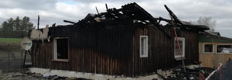 Prośba o wsparcie odbudowy domu po pożarze
