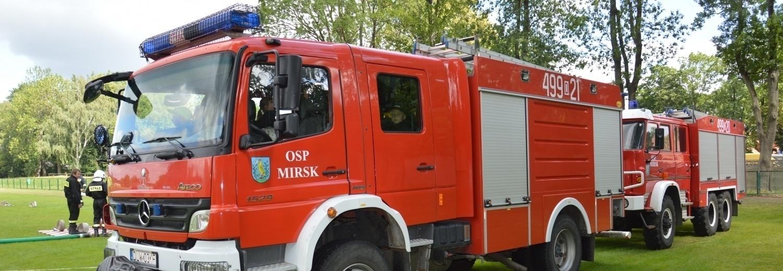 Doposażenie jednostki Ochotniczej Straży Pożarnej w Mirsk