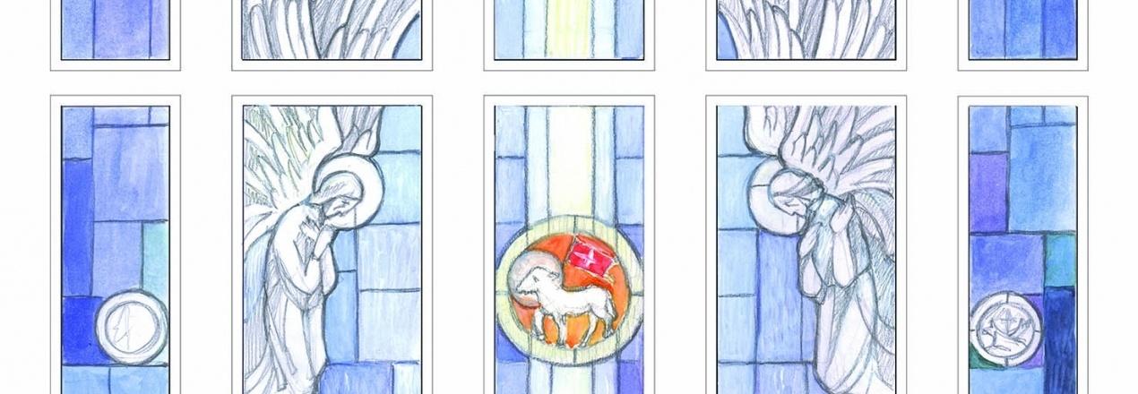 Witraże do kaplicy w klasztorze Franciszkanów w Bytomiu