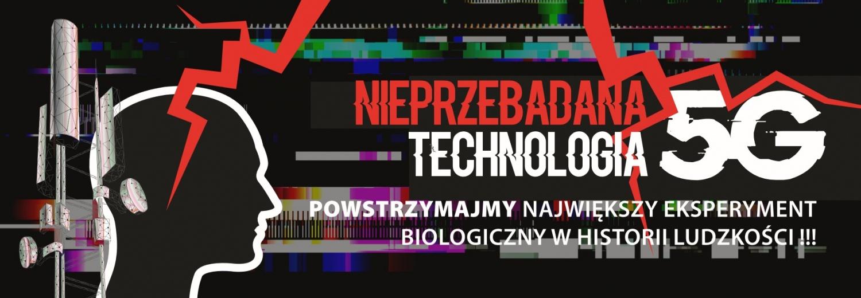 STOP 5G - Banery, Ulotki, Dojazdy (Cała Polska)