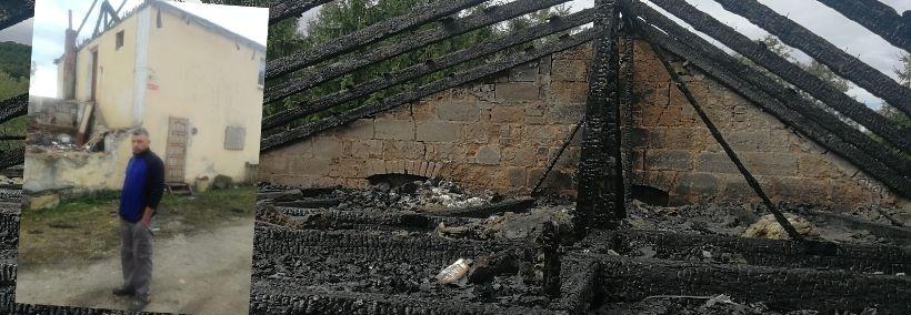 Pożar po raz kolejny zabrał im wszystko. Samotny ojciec potrzebuje pomocy.