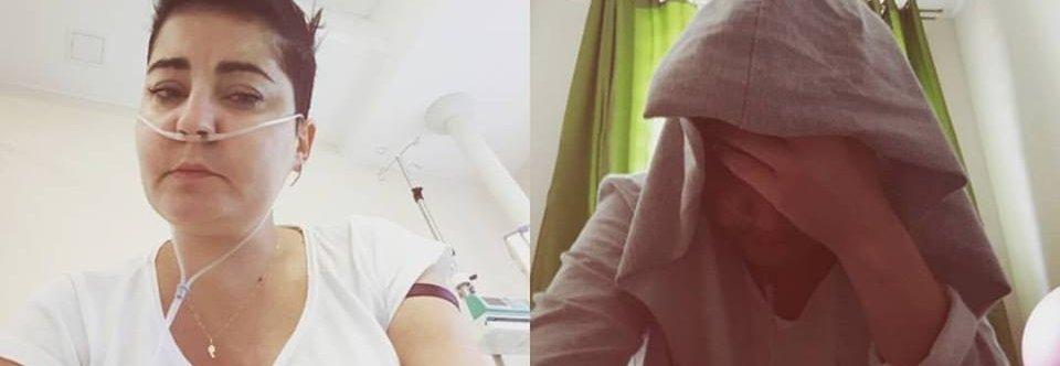 Pomocy, Asia potrzebuje sprzet by móc oddychać. Rak płuc zabiera jej oddech.