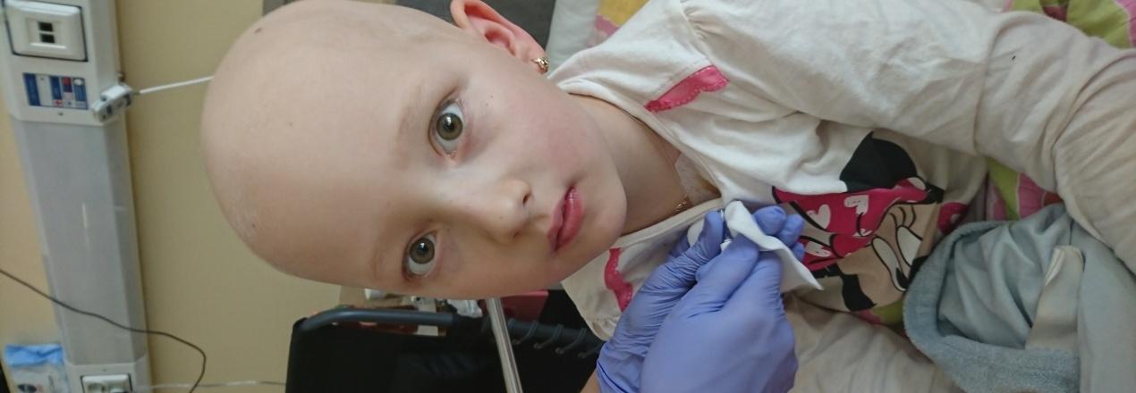 Amanda 6 lat, nowotwór ratujmy jej życie, cierpienie straszne nadzieja w ludziach dobrej woli!