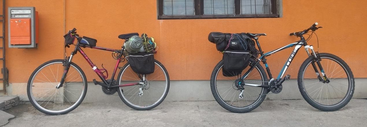 roczna wyprawa rowerowa przez Europie do Afryki. nomad cycling in europe
