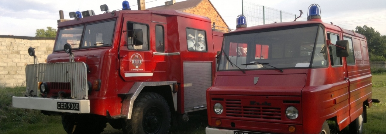 Wymiana samochodu gaśniczego w OSP Marzęcice