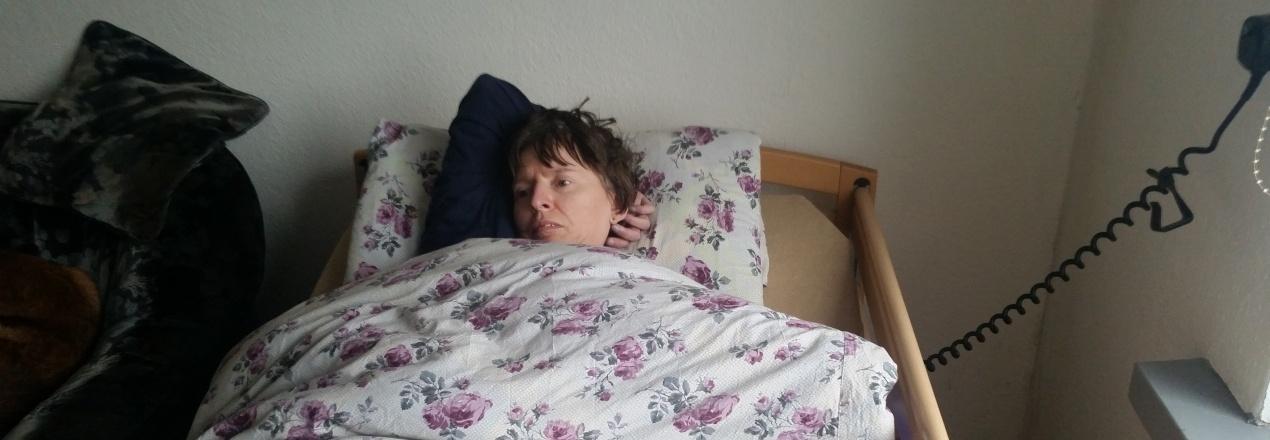 Pomoc mamie chorej na SM
