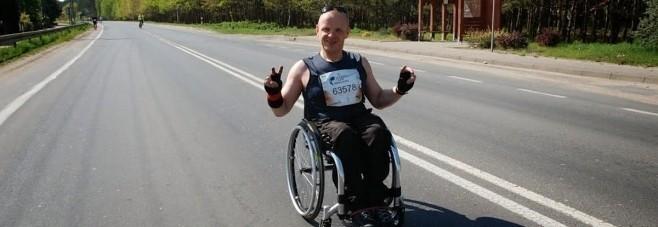 Jarosław Wilczyński - wózek sportowy