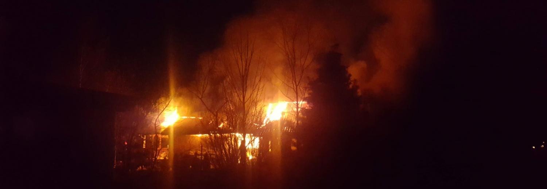Odbudowa spalonego domu Państwa Kwiatkowskich w m. Kanie gm. Rejowiec Fabryczny