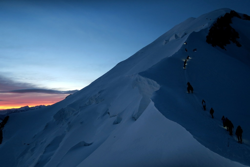 Mount Blanc Noc