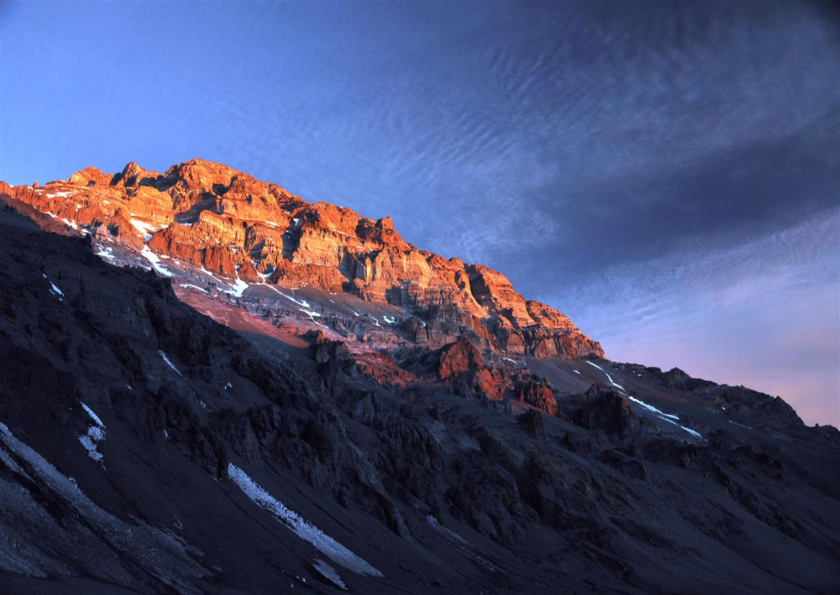 Zdjęcie wielkoformatowe Aconcagua