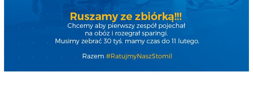 #RatujmyNaszStomil Zbiórka pieniędzy na obóz dla piłkarzy Stomilu Olsztyn
