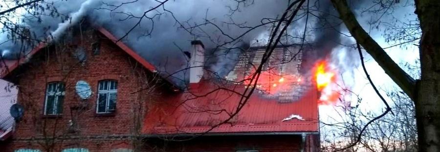 Pomoc dla rodziny, której spłonął dom