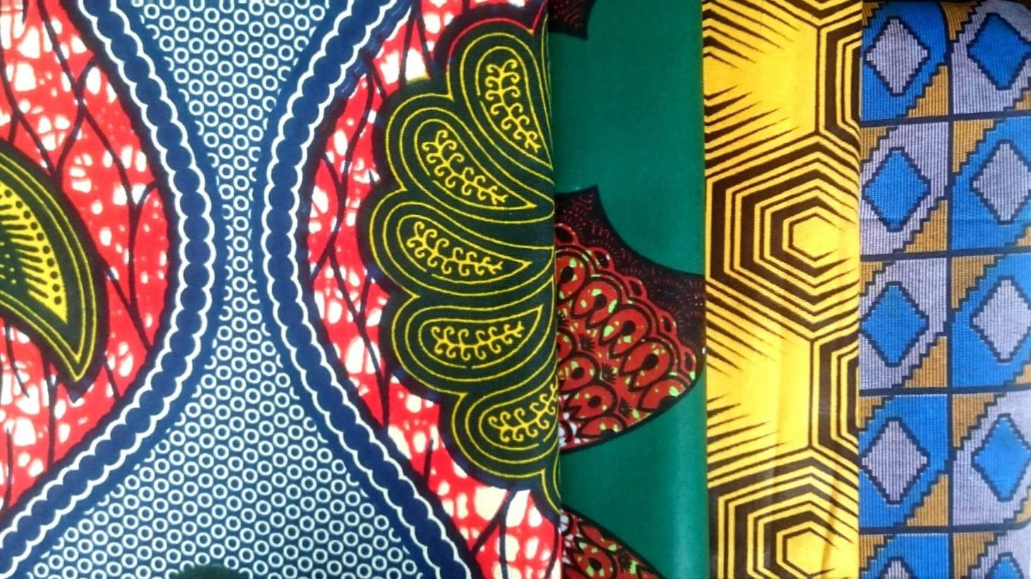 Torba ekologiczna z afrykańskiej tkaniny
