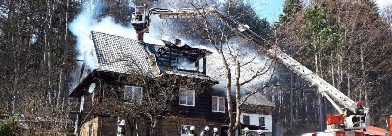 Strażakom spalił się dom - ratowali a teraz sami potrzebują pomocy!