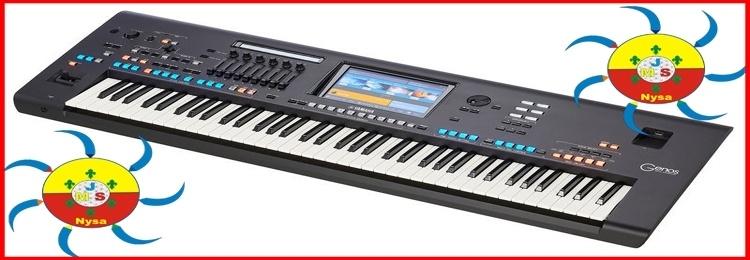 Keyboard Yamaha Genos dla Jasnej Strony Mocy