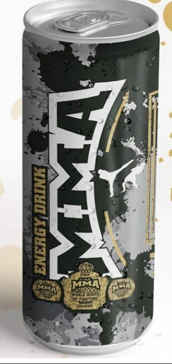 MMA Energy Drink 120x250ml