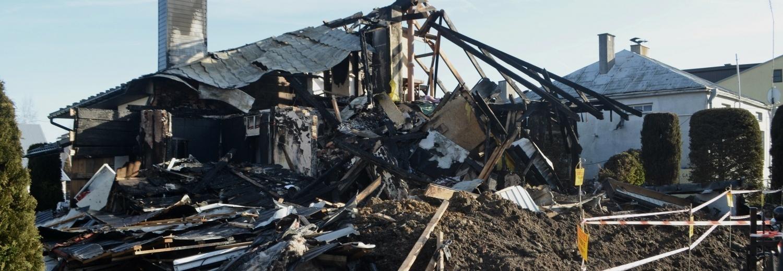 W wyniku wybuchu gazu stracili wszystko. Rodzina z Oleszyc potrzebuje pomocy.