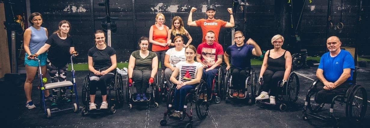 Zajęcia Crossfit dla osób niepełnosprawnych na wózkach