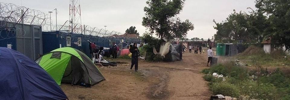 Pomoc dla uchodźców w Kelebiji