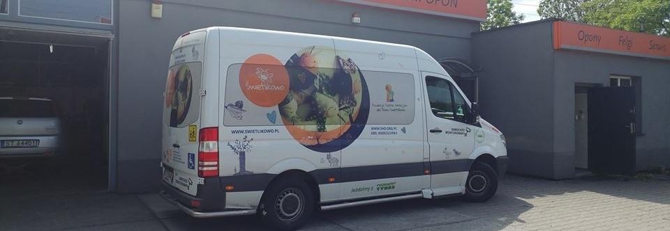 Hospicjum dla Dzieci Świetlikowo - naprawa specjalistycznego busa do przewożenia Dzieci