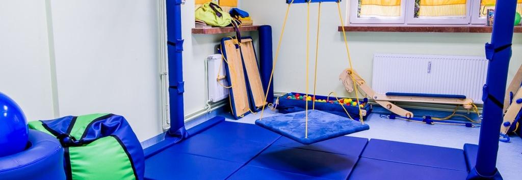 Wyposażenie sali Integracji Sensorycznej w nowym Ośrodku Terapii stowarzyszenia po PROstu