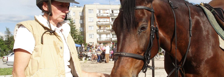 Na utrzymanie 3 koni mojej przyjaciółki - żeby miały godną starość i były szczęśliwe do końca